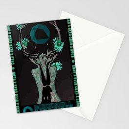 Cider Label- Antlers Stationery Cards
