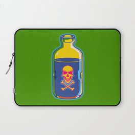 psychedelic poison bottle Laptop Sleeve