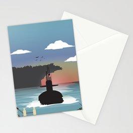 Norfolk, VA - Submarine Homeport Stationery Cards
