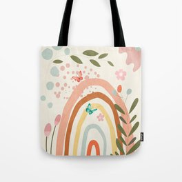 Abstract Summer 5 Tote Bag