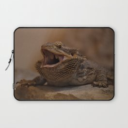 Hissing Bearded Dragon Laptop Sleeve