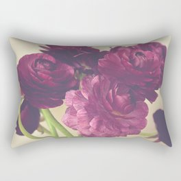 Romantic Ranunculus Rectangular Pillow