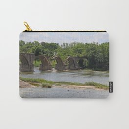 Trestle Over the Maumee II Carry-All Pouch