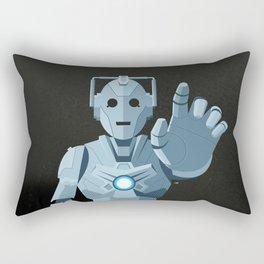 Nightmare in Silver (Cyberman) Rectangular Pillow