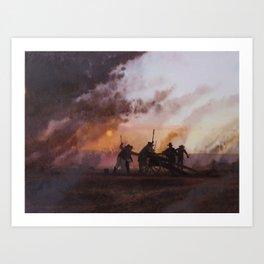 'Come and Take It' Art Print