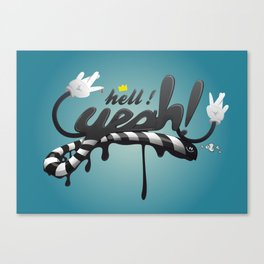 Hell YEAH ! Canvas Print