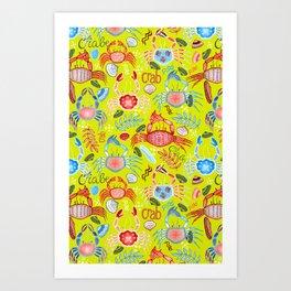Crustaceans Art Print