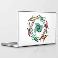 circle Laptop & iPad Skins featuring Circle by DebS Digs Photo Art