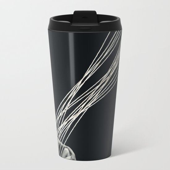 Esplendor Geometrico Metal Travel Mug