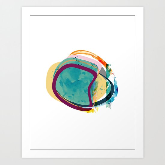 Exoplanets_1 Art Print