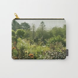 English country garden late summer haze. Carry-All Pouch