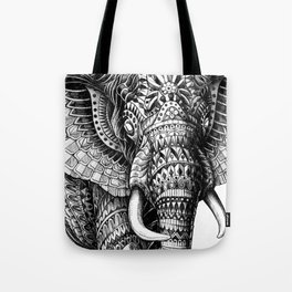Ornate Elephant v.2 Tote Bag