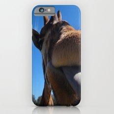 Giraffe lick Slim Case iPhone 6s