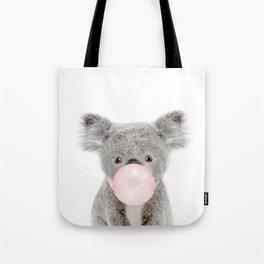 Bubble Gum Baby Koala Tote Bag