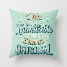 I am an original Throw Pillow