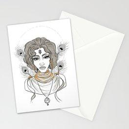 Goddess Oshun Inktober 2016 Stationery Cards