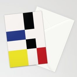 Minimal Squares II Stationery Cards