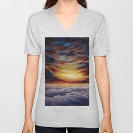 Between two worlds Unisex V-Neck
