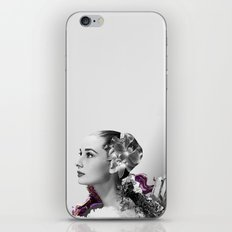Quartz Armor & Orchids in Her Hair iPhone & iPod Skin