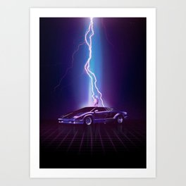 A legendary moment Art Print