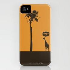 WTF? Jirafa! iPhone (4, 4s) Slim Case