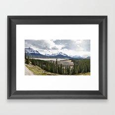 Meet me There Framed Art Print