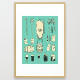 Brewer's Things Poster Framed Art Print