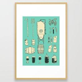 Brewer's Things Poster Framed Art Print