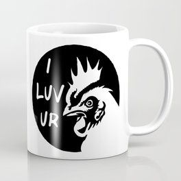 Adult humor sexy naughty love statement - I love your Cock  Coffee Mug