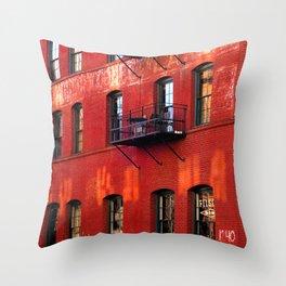 Filson building, Portland, Oregon Throw Pillow