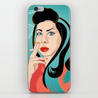 ali gulec iPhone & iPod Skins featuring Ali by AvalonClare