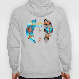 Arrows and Feathers Tribe Hoody