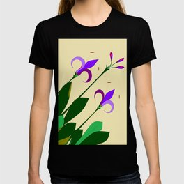 Lavenders and Violet Colored Lilies T-shirt