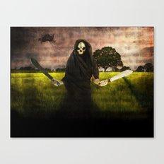 Death loves you Canvas Print