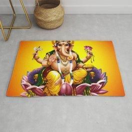 Hindu Ganesha 2 Rug