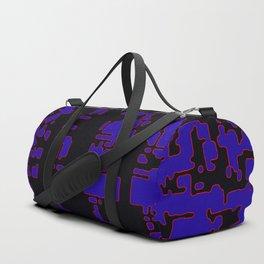 jitter, black blue, 3 Duffle Bag