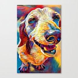Dachshund 3 Canvas Print