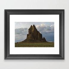 Shiprock, New Mexico. Framed Art Print