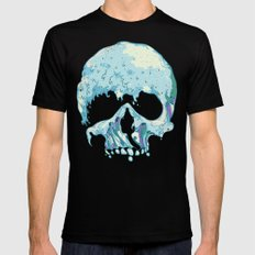 Silent Wave LARGE Mens Fitted Tee Black