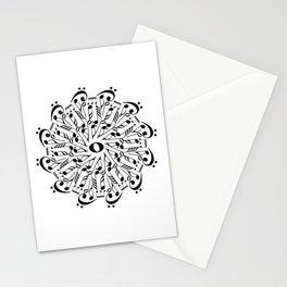 Musical mandala Stationery Cards