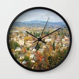 Oregon City Wall Clock