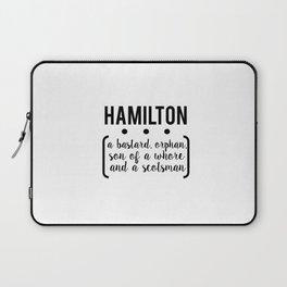 a.ham // white Laptop Sleeve