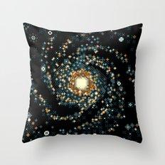 Pinwheel Galaxy M101 (8bit) Throw Pillow