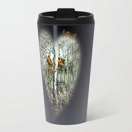 Gold Finches Travel Mug