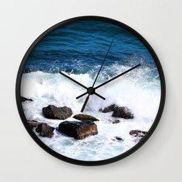 """feeling the splash of paradise"" Wall Clock"