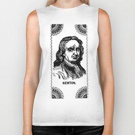 Sir Isaac Newton Biker Tank