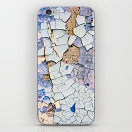 Textured peeling paint - Macro Photography iPhone Skin