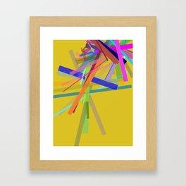 Oblique N°1 Framed Art Print