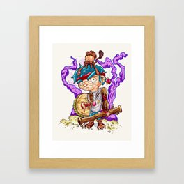 Jungle pirate. Framed Art Print