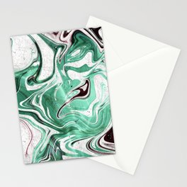 Absinthe Marble Stationery Cards